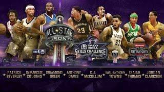 Taco Bell Skills Challenge Full Highlights (2016/02/13) - NBA All Star 2015-16