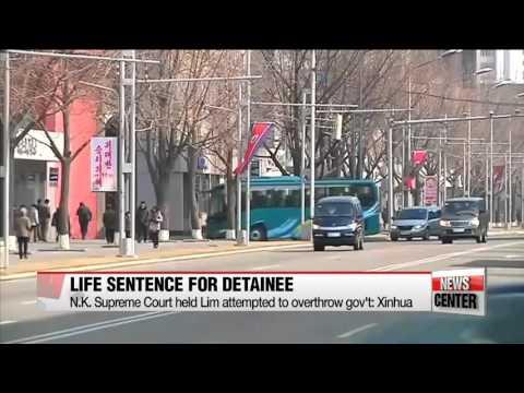 South Korean-born Canadian pastor sentenced to lifetime labor in North Korea