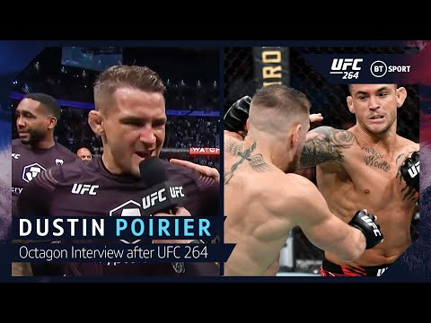 """""""This guy is a dirtbag!"""" Dustin Poirier on Conor McGregor after heated UFC 264 main event."""