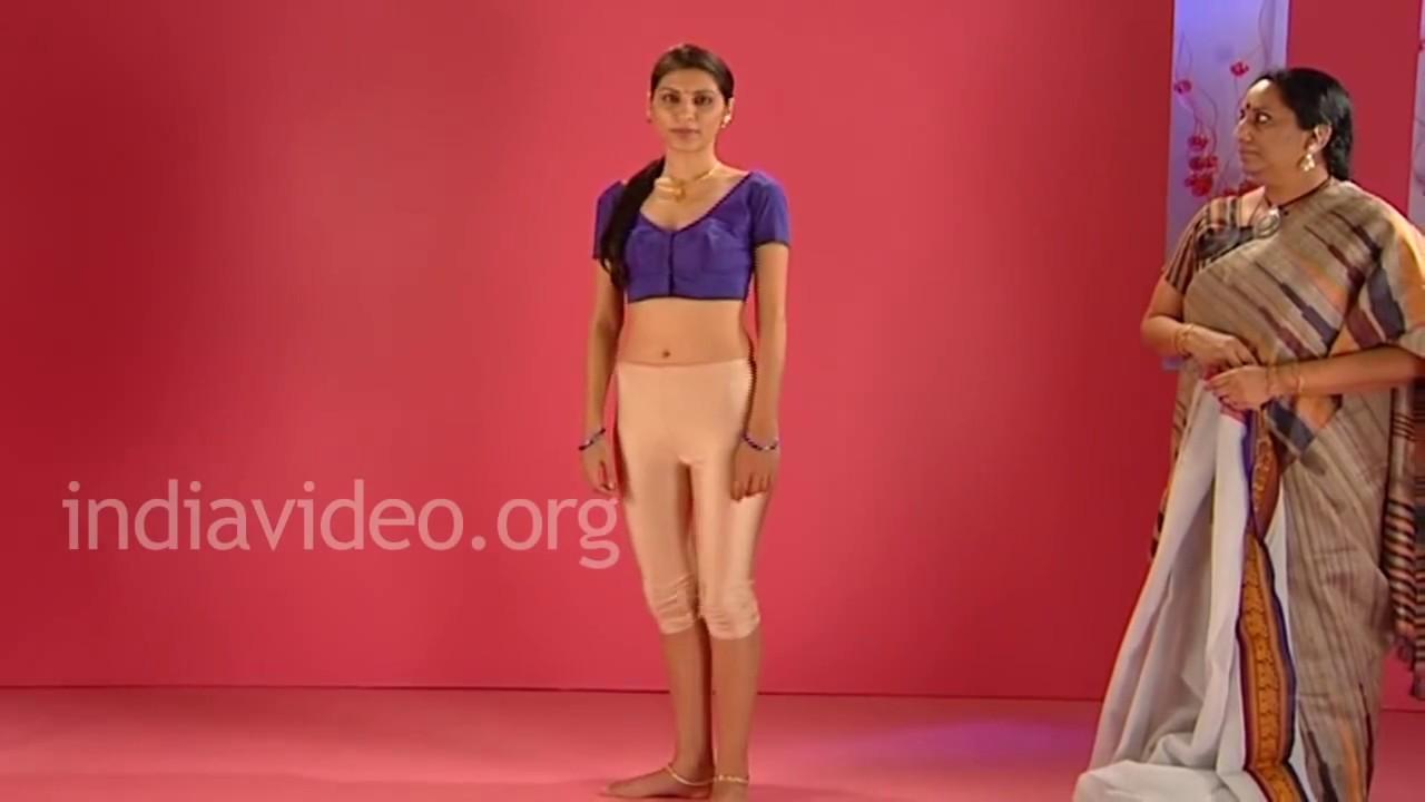 How To Wear A Gadwal Saree In Tamil-Telugu Brahmin Style