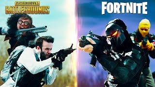 PUBG vs Fortnite thumbnail