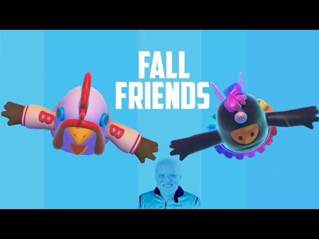 Fall Friends | Fall Guys W/ Raeyei