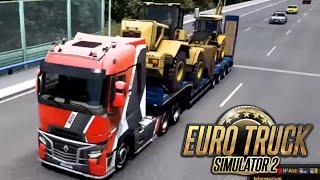ETS 2 DLC IBERIA - DLC IBERIA LA PRIMA MULTA - GAMEPLAY ITA