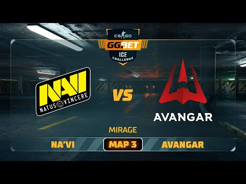 Na'Vi vs Avangar [Map 3, Mirage] (Best of 3) | GG.Bet Ice Challenge