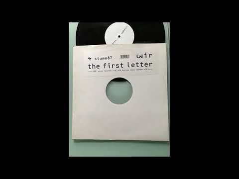 WIR the first letter FULL CD