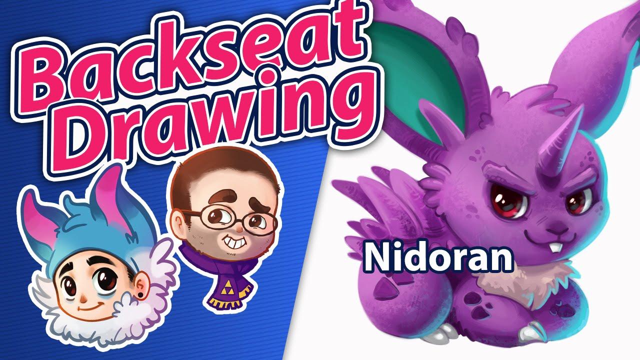 032 Nidoran - Why can't Nidoqueen breed - Backseat Drawing ...
