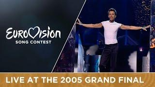 Constantinos Christoforou - Ela Ela (cyprus) Live - Eurovision 2005