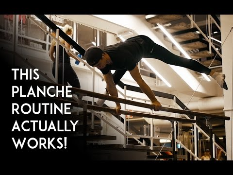 This Planche Routine Actually Works!