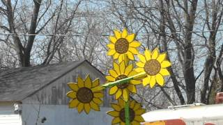 Sunflower Whirlygig