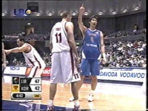 LEBANON VS KOREA - ASIA CHAMPIONSHIP 2007 - SEMI FINAL - Q3