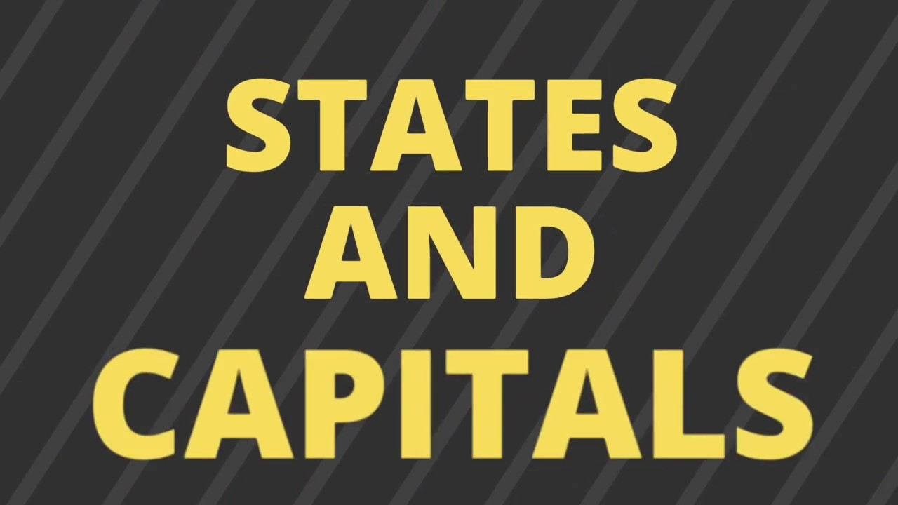 States and capitals of India