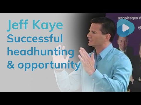 Successful Headhunting And Selling The Opportunity