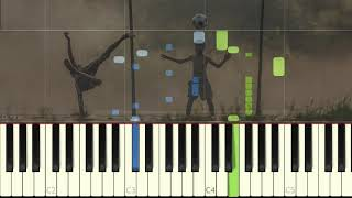 Los Dinosaurios de Charly Garcia (piano version Synthesia)