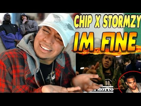 CHRIS BROWN IS CHIPS BROTHER!? Chip - Im fine Feat. STORMZY & Shalo Reaction (UK Rap/Trap/Grime)