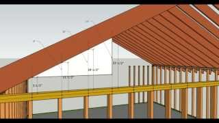 How To Cut Gable Studs Formula - Advanced Carpentry And Home Building Tip