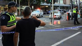 Driver arrested as car hits pedestrians in Melbourne
