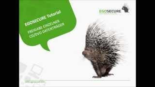 Tutorial: Freigabe einzelner CD DVD Datenträger - EgoSecure Endpoint