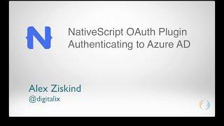 Introducing the NativeScript OAuth Plugin