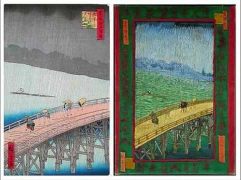 A comparison of gavotte by prokofiev and fantasy on japanese woodblock by alan hovannes
