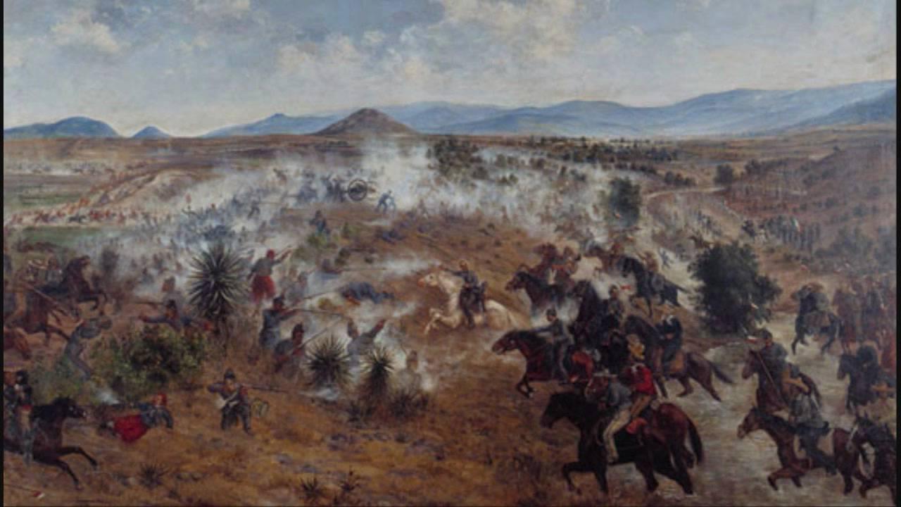 Batalla Del 5 De Mayo Cancionero De La Intervencion
