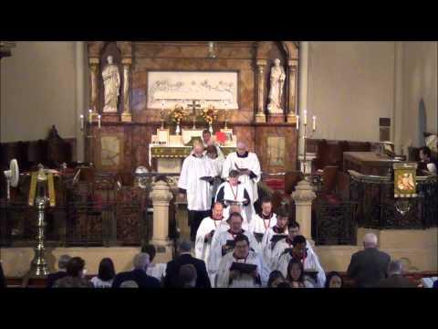 Stand up, stand up for Jesus @ St. John's Detroit - September 23, 2012