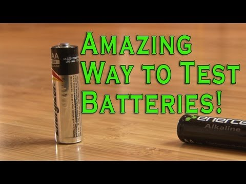 Can't Remember If Certain Batteries Are Dead? Try This Simple (and Really Cool) Trick