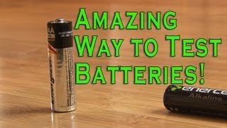 Amazing Way to Test Batteries! thumbnail