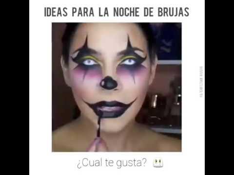 Halloween Idee.Halloween Idee Maquillage Clown