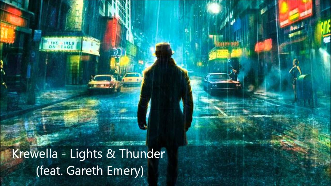 Krewella - Lights & Thunder (feat. Gareth Emery) - YouTube