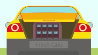 Купить термобокс для доставки тортов.