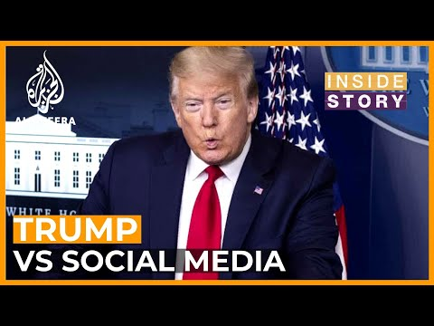 Why is the US president aiming his anger at social media? I Inside Story