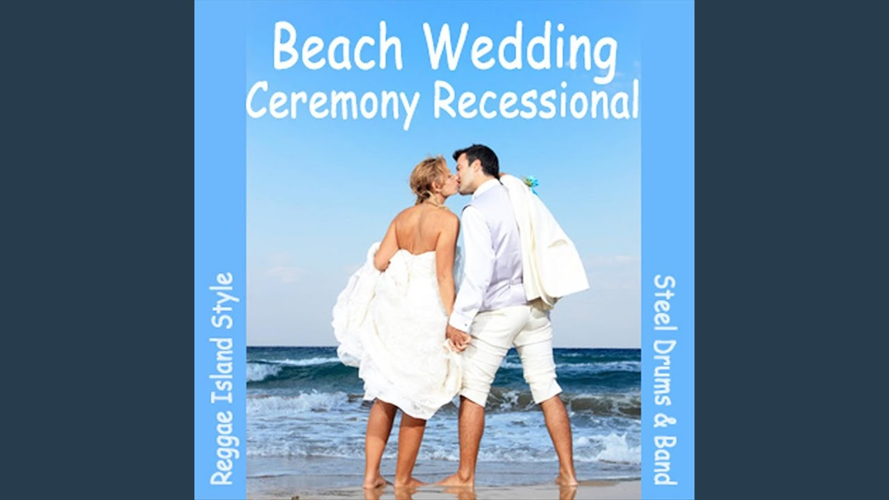 Ceremony Recessional Beach Wedding