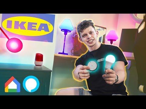 IKEA Smart Lights are FINALLY GOOD!? Ikea Tradfri Review!