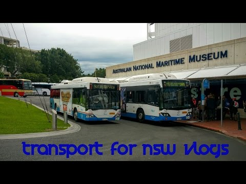 Transport for NSW Vlog No.997 Maritime Museum - Buses
