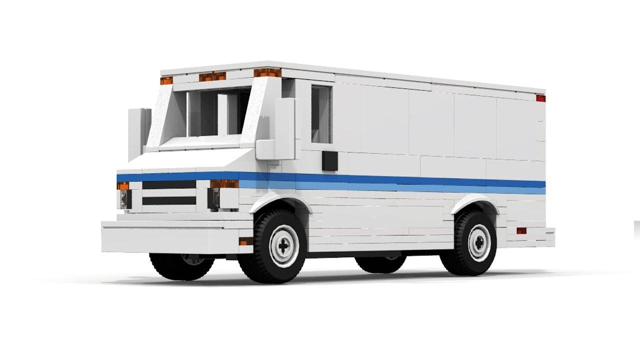 Cargo Van Custom >> How to build LEGO City Cargo Van - YouTube