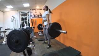 Классическая становая тяга 90 кг