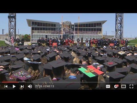 Iowa State Spring 2017 Undergraduate Commencement