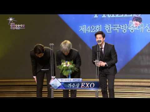 [ENG 1080p] 150903 42nd K0rea Br0adcasting Pr1zes Singer Award EX0 Cut [mr.virtue]