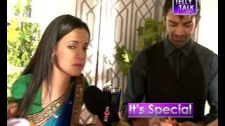 Sanaya Irani & Barun Sobti off screen banter on the sets : Old Memories