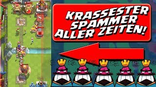 MEGA KRASSER HÜTTENSPAMMER! || CLASH ROYALE || Let