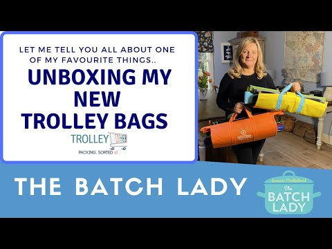 Unboxing my new Trolley Bags!
