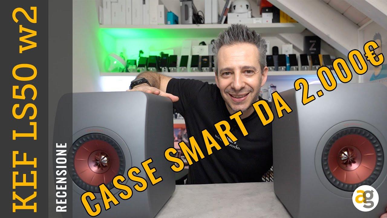 Download CASSE SMART da 2000 euro HANNO SENSO? Recensione KEF LS50 wireless 2 e FAQ