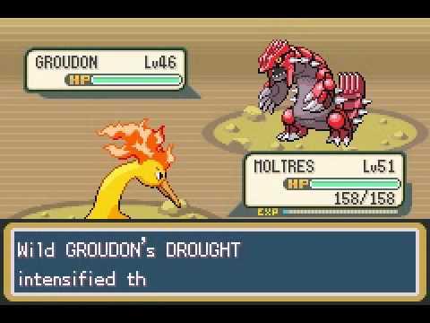 catch groudon in pokemon fire red Codebreaker  YouTube