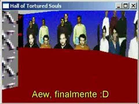 Excel 95 - Hall of Tortured Souls Easter Egg