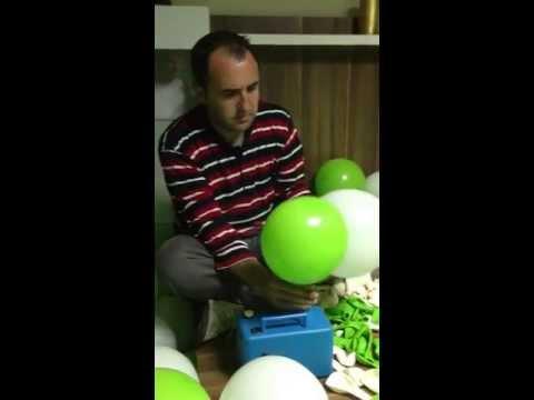 Svm Organizasyon balon Süsleme, Zincir Balon Nasıl Yapılır 0232 421 66 70,www.svmorganizasyon.com.tr