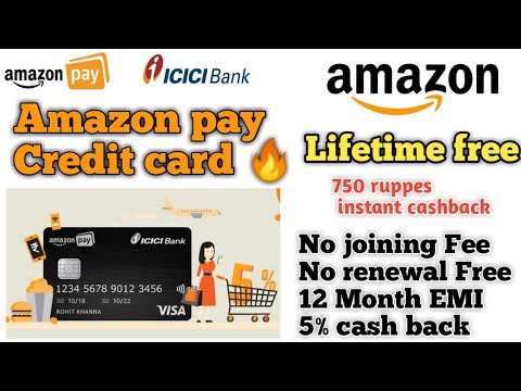 Amazon Pay | Lifetime Free Credit Card Offer 😍 | No Joining & Annual Fee | All Benifits🔥🔥