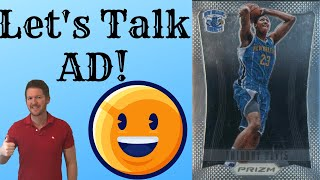 Sports Card Investing & Flipping: Let's Talk Anthony Davis Sports Cards