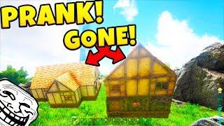 THE GHOST HOUSE PRANK - ARK SURVIVAL EVOLVED EXTINCTION EXPANSION #11