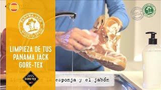 Cómo limpiar tus botas Panama Jack Gore-Tex
