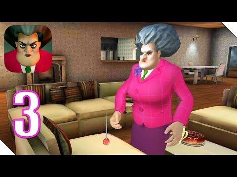 Scary Teacher 3D Прохождение Часть 3 Как поставить Иголку под училкой? | Андроид/iOS Геймплей
